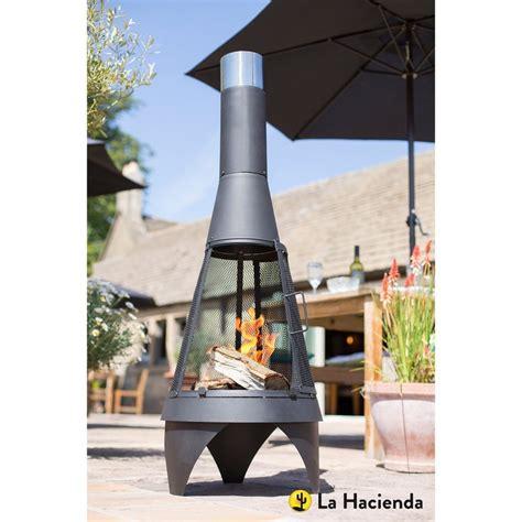 cheminee d exterieur chemin 233 e d ext 233 rieur au charbon de bois medium noir