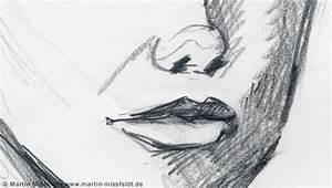 Kunst Zeichnungen Bleistift : nase und mund aus bleistiftzeichnung marion ~ Yasmunasinghe.com Haus und Dekorationen
