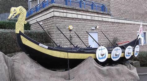 Viking Longboat York by Viking Re Enactment At The Beacon