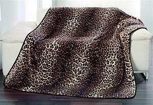 Kuscheldecke Animal Print : wohndecke g zze leopard animalprint kaufen otto ~ Whattoseeinmadrid.com Haus und Dekorationen