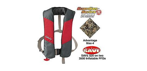 Cabela's Guardian Series Inflatable Pfds And Rearming Kit
