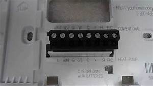 Honeywell Thermostat Th6220d1002 Wiring Diagram