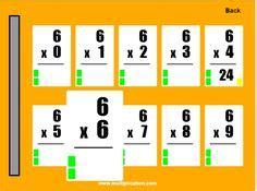 multiplication flash cards images multiplication
