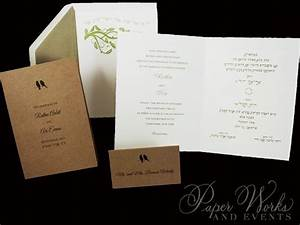 for a natural and earthy wedding the dual language With wedding invitations dual language