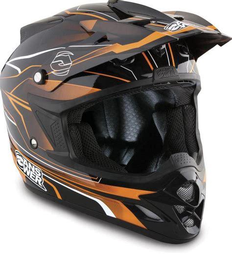 answer motocross helmets buy answer comet react black orange large dirt bike