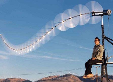 Изобретен эффективный ветрогенератор . журнал популярная механика