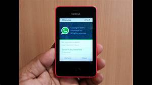 Official Real Whatsapp Review On Nokia Asha 501  Download