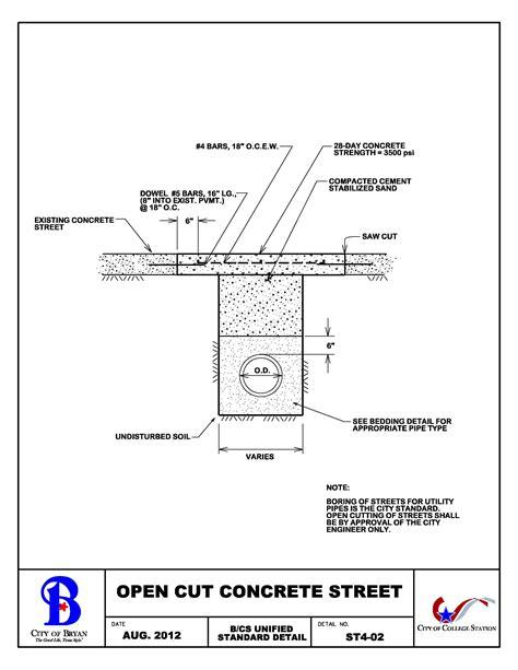 Concrete Driveway Construction Specifications