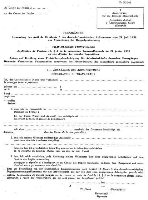 bureau d impot formulaire int demande d 39 exonération de l 39 impôt