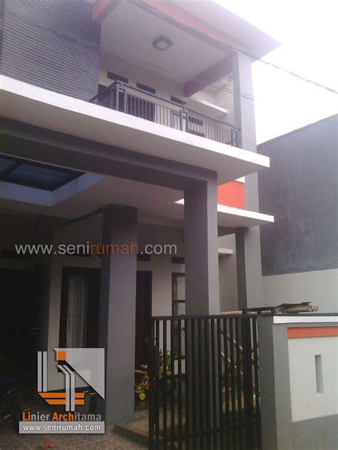 desain rumah minimalis tanah    meter  jatiasih