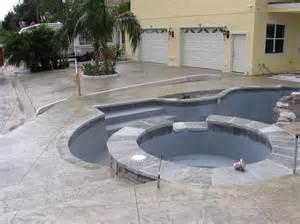 Patio Concrete Stain