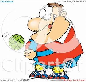 Royalty-Free (RF) Clipart Illustration of a Cartoon Chubby ...