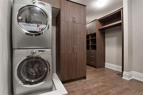 Master Closet With Washer And Dryer by 17 Best Images About Attic Master Closet On
