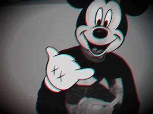Mickey Mouse Dope Wallpaper - WallpaperSafari