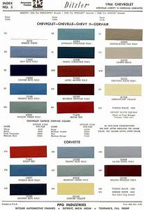 Car Paint Colors Chart 1966 Chevrolet Chevelle The 1966 Chevelle Reference Cd