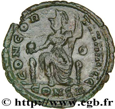 si鑒e de constantinople nummus valentinien ii concordia avggg atelier de constantinople rome antique numista