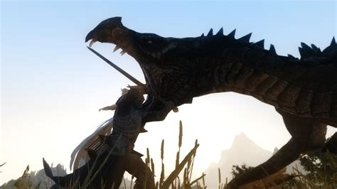 Dragonborn Vs Dragon At Skyrim Nexus Mods And Community