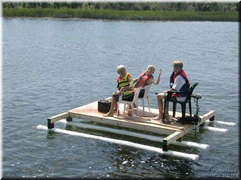gesall picnic table raft plans