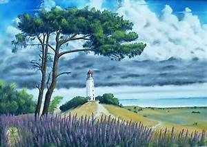 Bilder Bäume Gemalt : gewitterstimmung ber dem leuchtturm dornbusch hiddensee ostsee foto bild ~ Orissabook.com Haus und Dekorationen