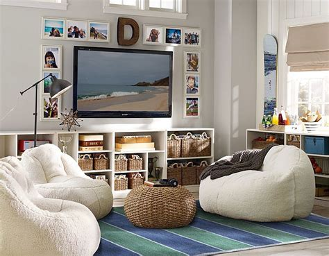 Pb Teen For The Playroom Around Tv. Love The Wooden Letter