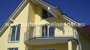 Balkongeländer Selber Bauen : balkongel nder verzinkt mit glas als bausatz aus polen ~ Lizthompson.info Haus und Dekorationen