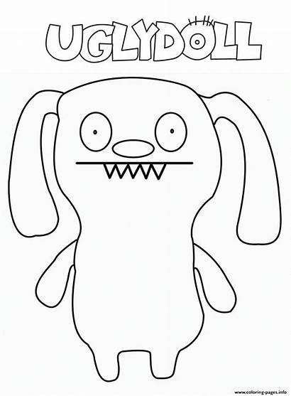 Ugly Coloring Doll Pages Printable Hib