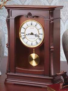 Bulova Abbeville Mantel Chime Clock