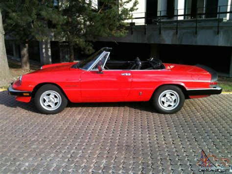 1985 Alfa Romeo Spider by 1985 Alfa Romeo Spider Veloce