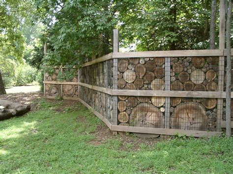 alternative to wooden fencing stone walls and gabion stone fences a stylish alternative for beautiful homes