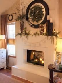 christmas fireplaces ornament ideas