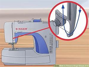 How To Thread A Singer Simple 3116  With Pictures
