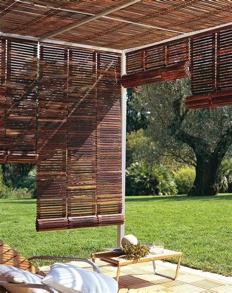 25 best ideas about patio privacy on backyard