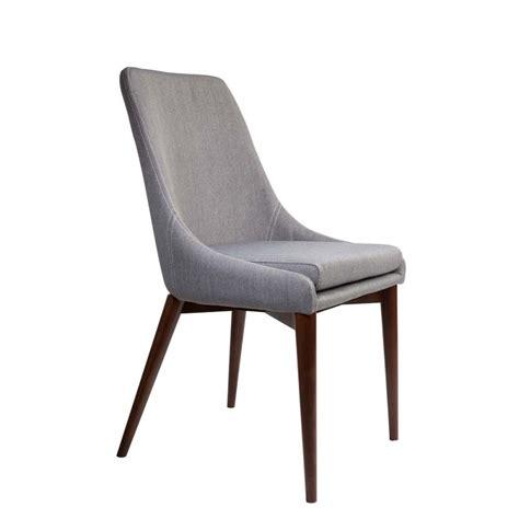 chaise tissus chaises en tissu juju x2 par drawer