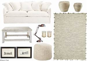 variations autour d39un canape blanc joli place With tapis oriental avec canapé style shabby
