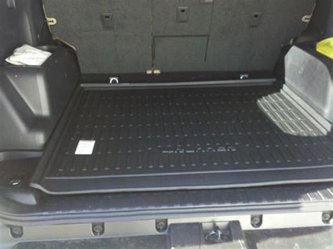 4runner Sliding Rear Cargo Deck by 2010 15 Oem Toyota 4runner All Weather Cargo Mat Tray W