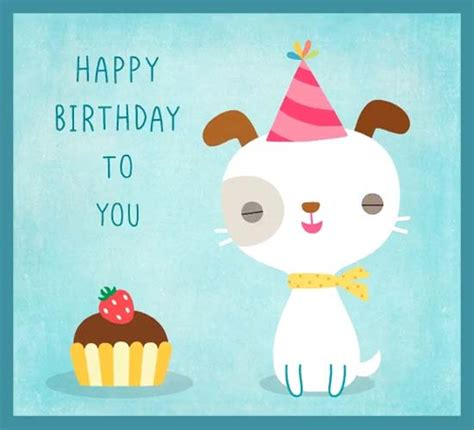 happy birthday puppy  pets ecards greeting cards