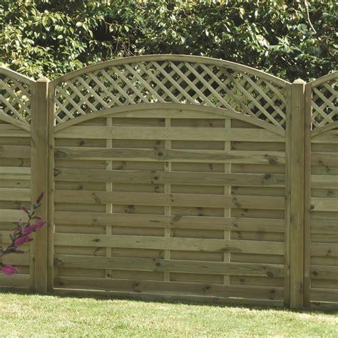 Metal Trellis Fence Panels by Arched Lattice Trellis Fence Panel Pressure Treated Free
