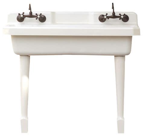 kitchen sink with legs harborview kitchen farm sink vintage style utility sink 6046