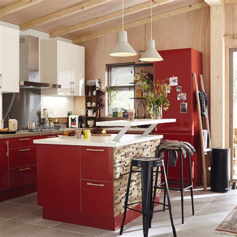 cuisine p駻鈩e meuble de cuisine delinia grenade leroy merlin