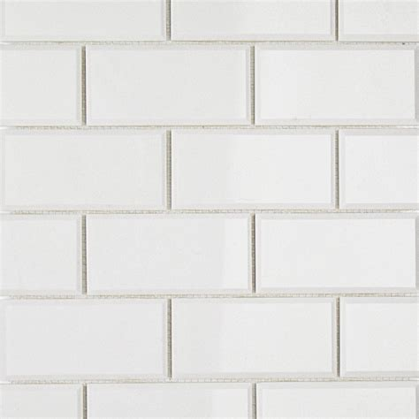 white beveled tile white thassos 2x4 beveled marble tile