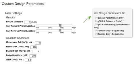 qpcr primer design design efficient pcr and qpcr primers and probes using