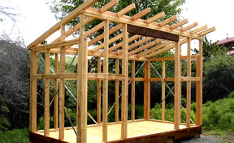 slant roof storage shed plans barn shed plans free