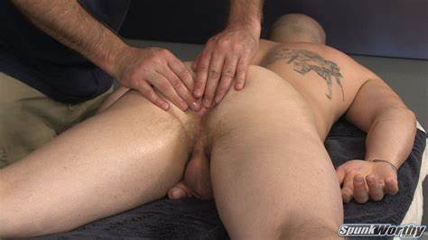 Long Haired Drill And Spunked On Massage Table