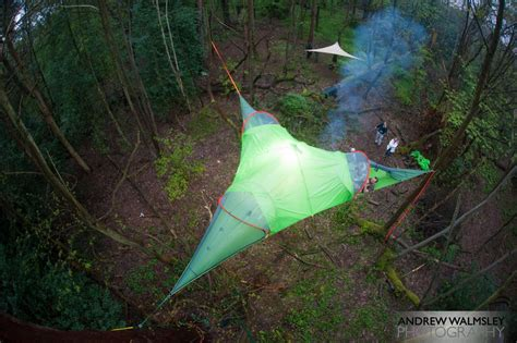 camp   air  suspended treehouse tents