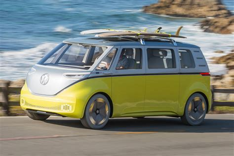 vw id buzz microbus confirmed   release auto