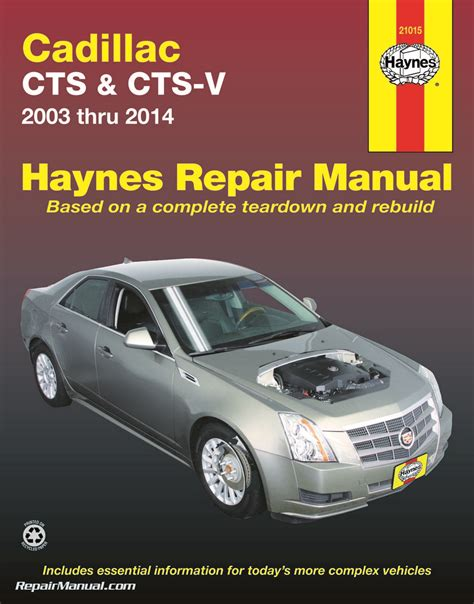 auto repair manual online 2010 cadillac cts electronic throttle control cadillac cts cts v 2003 2014 repair manual by haynes