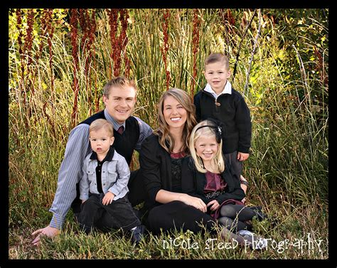 family of beautiful family of five utah family photographer