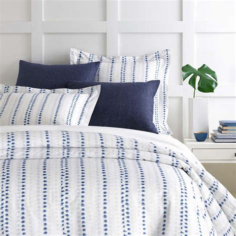 ink dots duvet cover pine cone hill