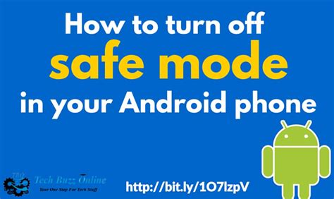 how to get your android phone out of safe mode