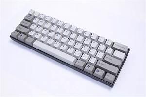 Kbparadise, V60, Olivette, 60, Double, Shot, Mechanical, Keyboard, Brown, Cherry, Mx